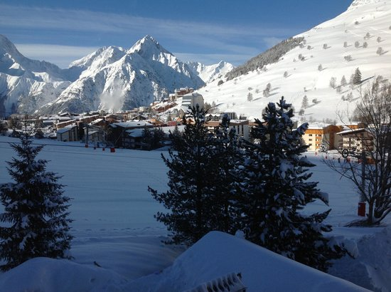Chalet Hotel Berangere: Morning view from balcony of room 203!