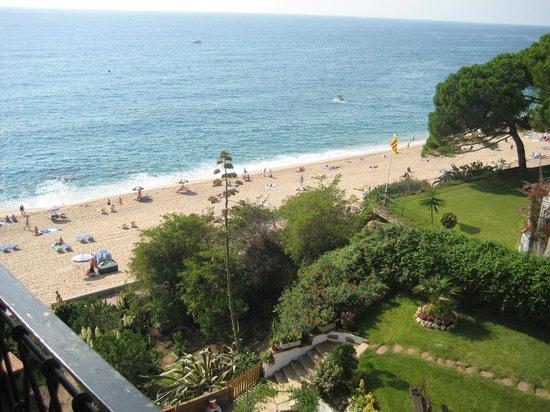 Rigat Park & Spa Hotel: Вид из номера