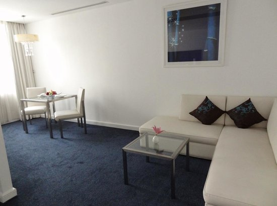 Suite relaxation area
