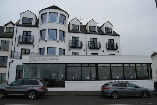 Bayview Hotel: Hotel Front