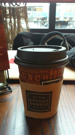 Corner Bakery Cafe: Capuccino cup