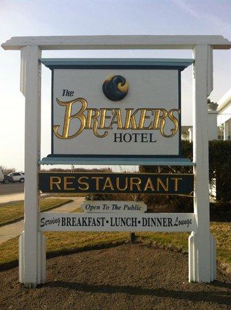 The Breakers on the Ocean: The Breakers