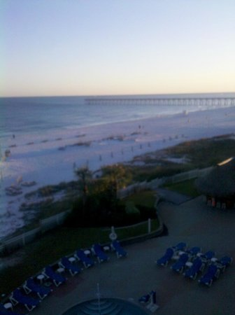 Hampton Inn Pensacola Beach: Room view Hampton Inn, Pensacola, FL