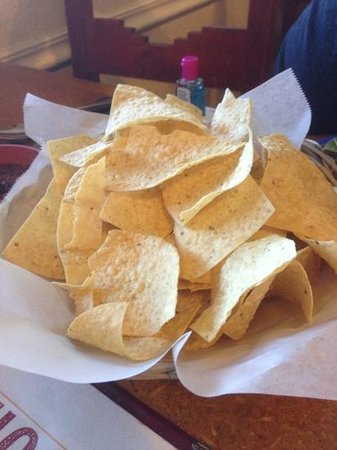 Anchos Southwest Grill & Bar: chips