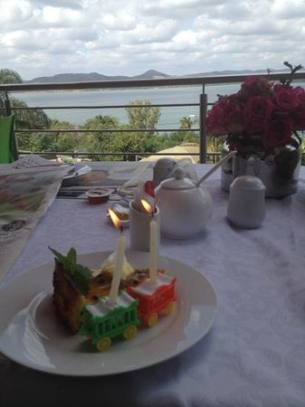 Stirling Manor Boutique Guest House & Conference Facility: birthday treat :)
