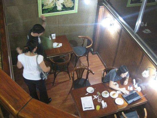 Esmeralda Palace Hotel: The breakfast dining area.