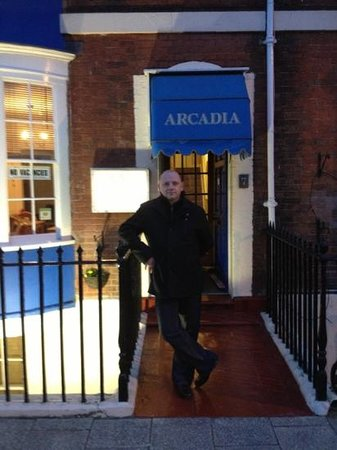 Arcadia Guest House: outside the guest house
