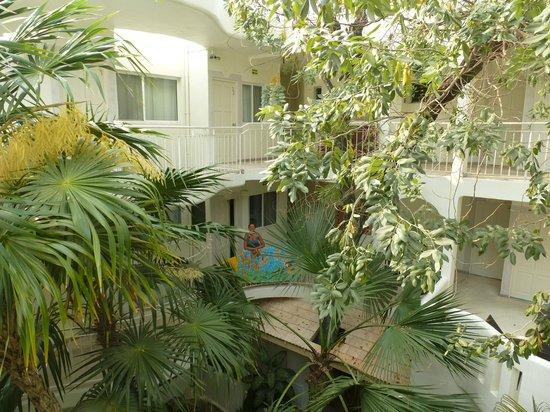 Coco Rio Playa del Carmen: giardino interno