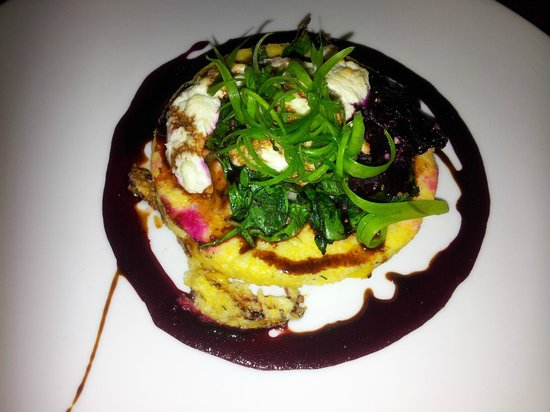 Lavan Restaurant: Polenta dish