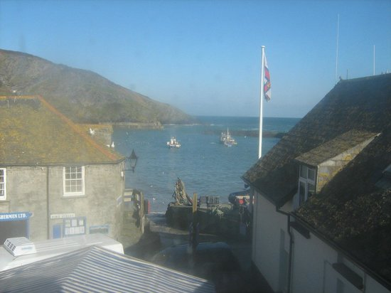 Slipway Hotel: View from Room 4