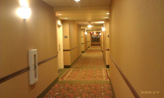 Holiday Inn Hotel Express & Suites West Hurst: Hallway to Room