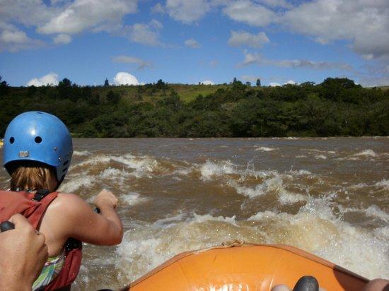 Rafting no Rio Tibagi