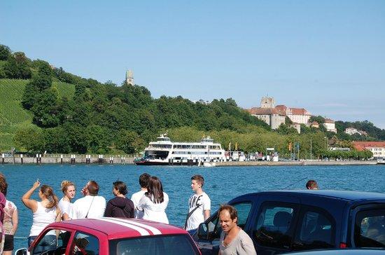 Hotel Weinberg: Arriving in Meersburg by ferry