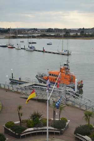 RNLI College: View from our room