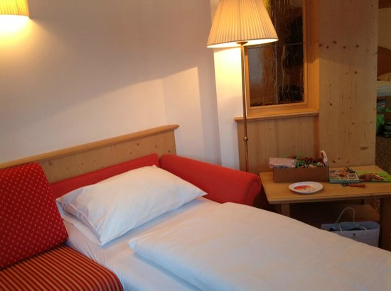 Hotel Sun Valley: Angolino con divano letto