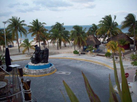 Color de Verano Village Apartments: view from the balcony