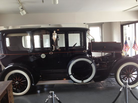 Woodrow Wilson Presidential Library and Museum: Wilson's Pierce Arrow