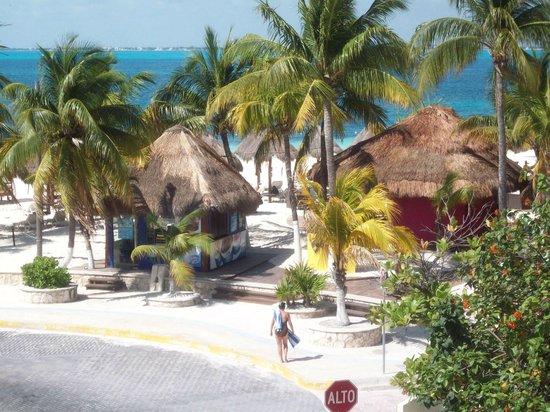 Color de Verano Village Apartments: view from balcony