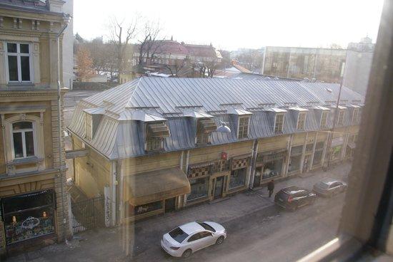 Original Sokos Hotel Hamburger Bors: View from the room.