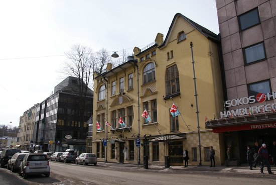Original Sokos Hotel Hamburger Bors : Exterior of the oldest part of the hotel.