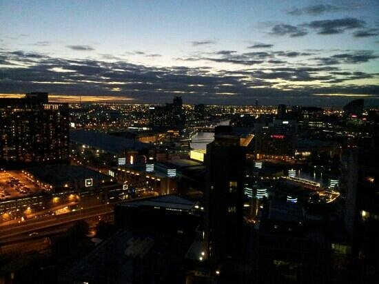 Melbourne Short Stay Apartments Southbank Collection: view over crown from 31st floor