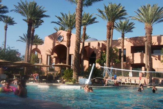 The Westin Mission Hills Villas: in the pool