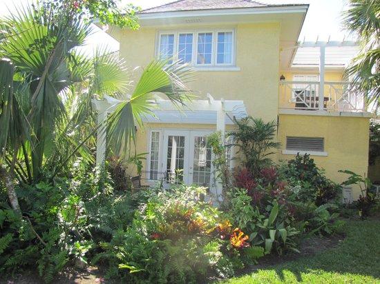 Sandals Royal Bahamian Spa Resort & Offshore Island : Arrière de notre chambre