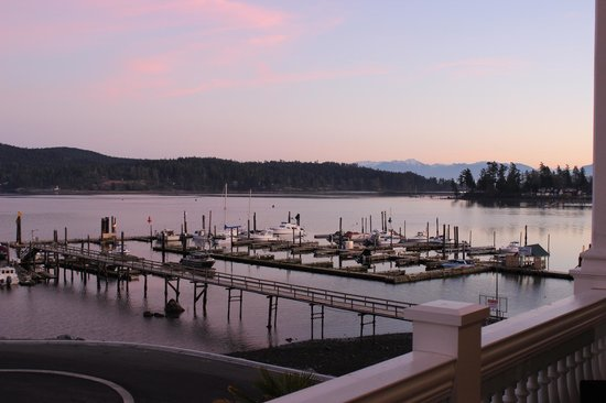 The Mix by Ric's - Sooke: View of Sooke Harbor from The Mix by Ric's