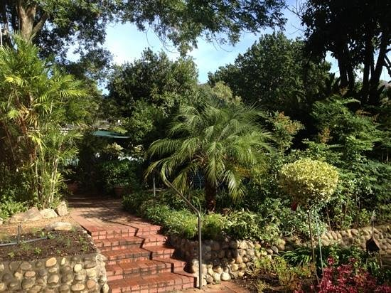 Rodeberg Lodge : garden to relax in
