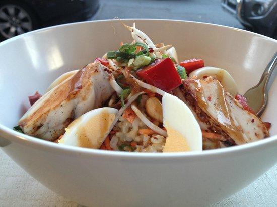 Bondi, Australia: Chilli Chicken HOT Rice Dish, YUM!