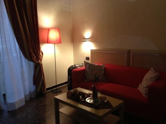 Hotel Malu': sala della superio