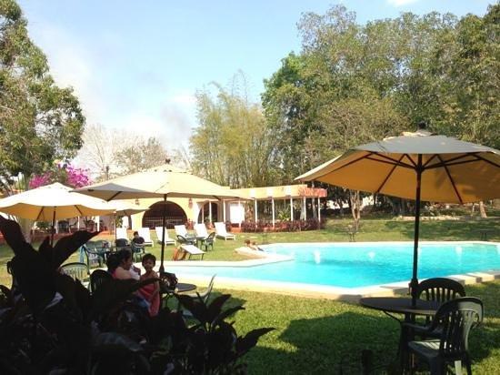 Hotel Chichen Itza: la piscine.