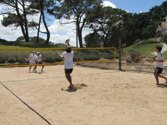 Pinamar Tennis Club: Beach tenis en Pinamar