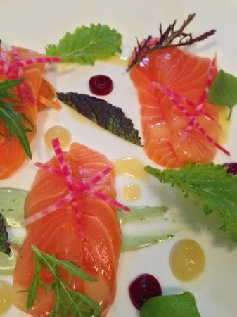 Wilks Restaurant: Great value and delicious salmon starter