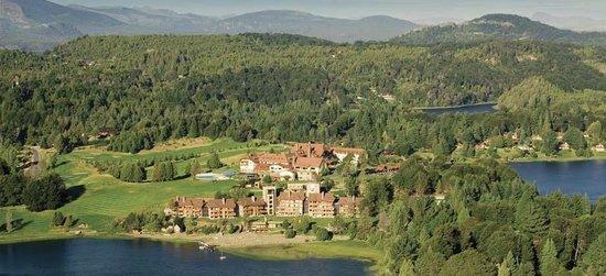 Llao Llao Hotel and Resort, Golf-Spa: Vista Aérea