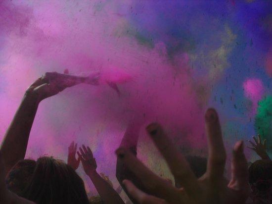 Sri Sri Radha Krishna Temple: Festival of Colors