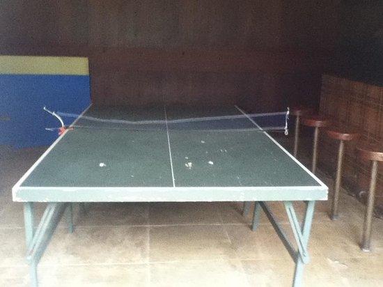 Itaipava, RJ: Estado da mesa de Ping pong.