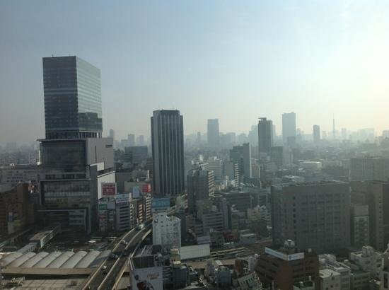 Cerulean Tower Tokyu Hotel: View from the 20th Floor!