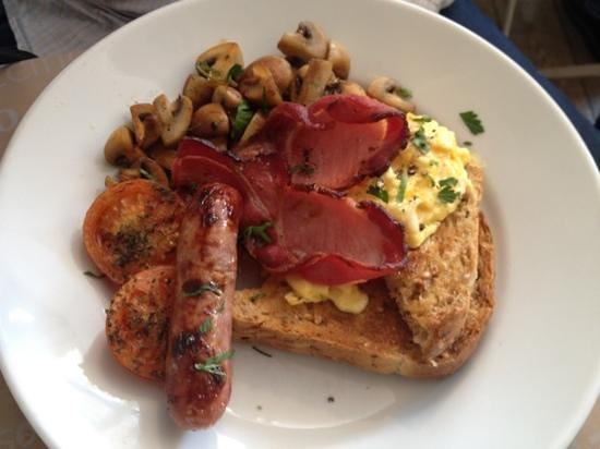 The Jack In The Green Inn: Full Cornish breakfast