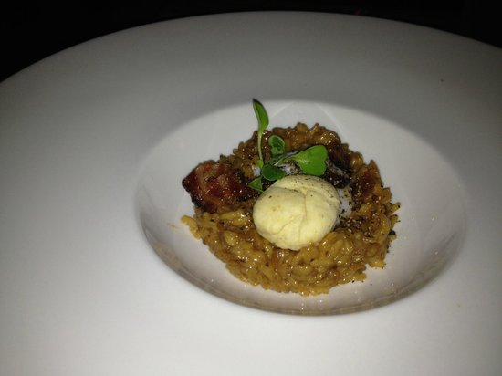 Veritas Tavern : Bacon risotto!