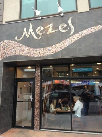 Mezes At Rhodes At Zinnis: in the heart of Greek Town