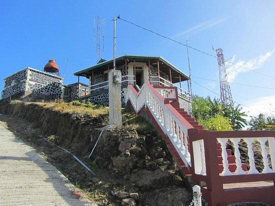 Cape Moule a Chique: Lighthouse keeper's quarters