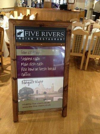 Five Rivers Restaurant: Wednesday Evening Banquet