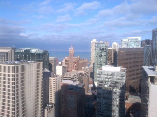 Chicago Marriott Downtown Magnificent Mile : City View 3509