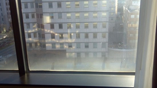 Hyatt Regency Bethesda: Dirty windows