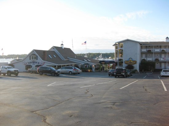 The charming Brown's Wharf Inn, Boothbay Harbor, ME