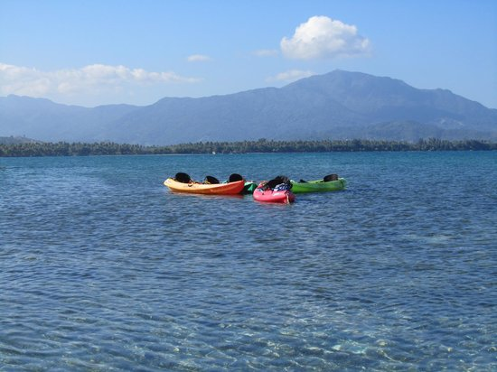 Barefoot Travelers Rooms : View of El Yunque mountains during kayak trip