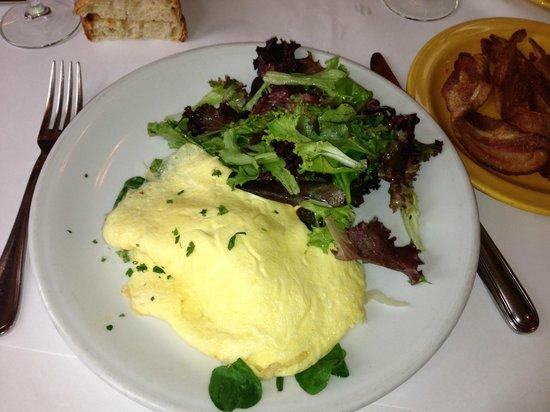MarketBar: Organic Egg Omelette and Zoe's Bacon