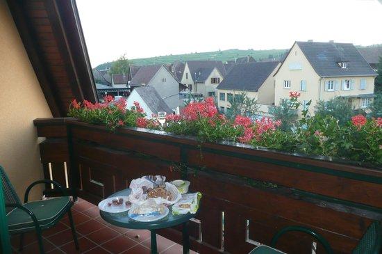 Le Mandelberg : Vue de notre balcon