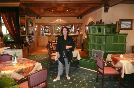 Le Mandelberg: Salle à manger de l'hôtel